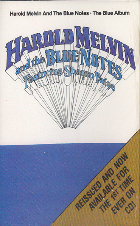 Harold Melvin & the Blue Notes featuring Sharon Paige: The Blue Album Cassette Tape