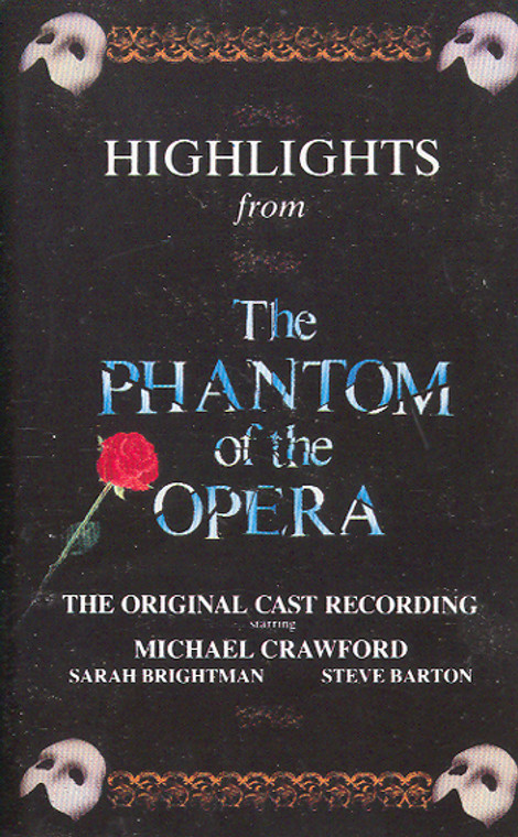 Highlights from Phantom of the Opera -15981 Cassette Tape