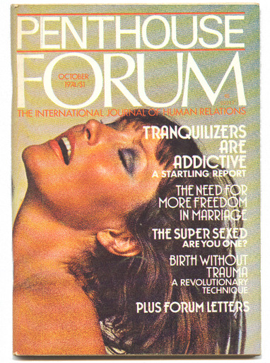 1974 October Penthouse Forum Magazine - Vintage Mens -2913
