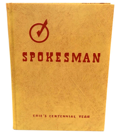 1951 Spokesman Strong Vincent High School Yearbook Erie Pa