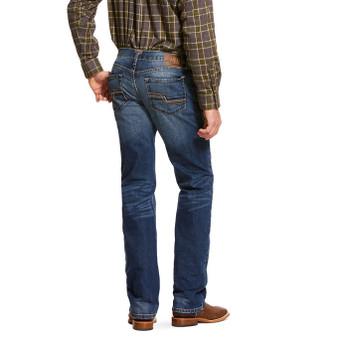M5 Slim Stretch Nebraska Stackable Straight Leg Jean