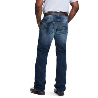 M5 Slim Stretch Razor Stackable Straight Leg Jean