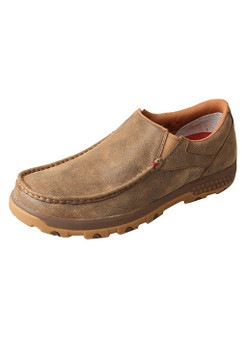 Men's Twisted X Slip-On Driving Moc Cell Stretch