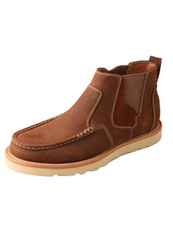 Men's Twisted X 4″  Slip-On Double Gore Wedge Sole Boot
