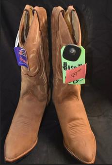 Justin Brown Snip Toe Boots