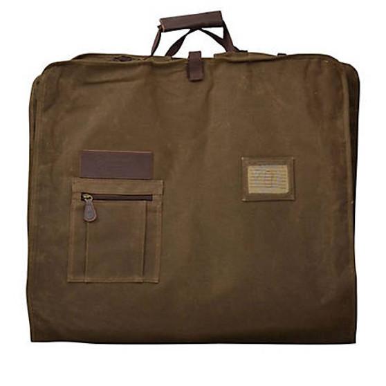 3D Belt Canvas Garment Bag Tan
