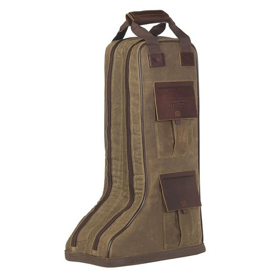 3D Belt Tin Cloth Oiled & Waxy Canvas Tall Bag