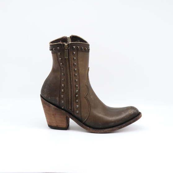 Liberty Black Polly Brown Bootie