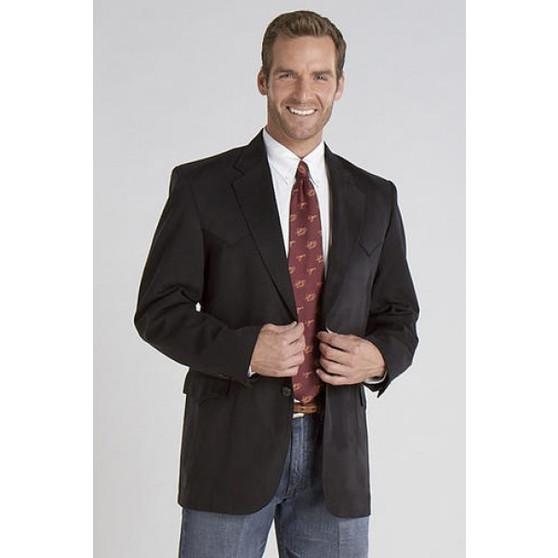 Circle S Black Micro Suede Houston Style Sports Coat