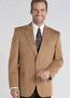Circle S Buckskin Micro Suede Houston Style Sports Coat