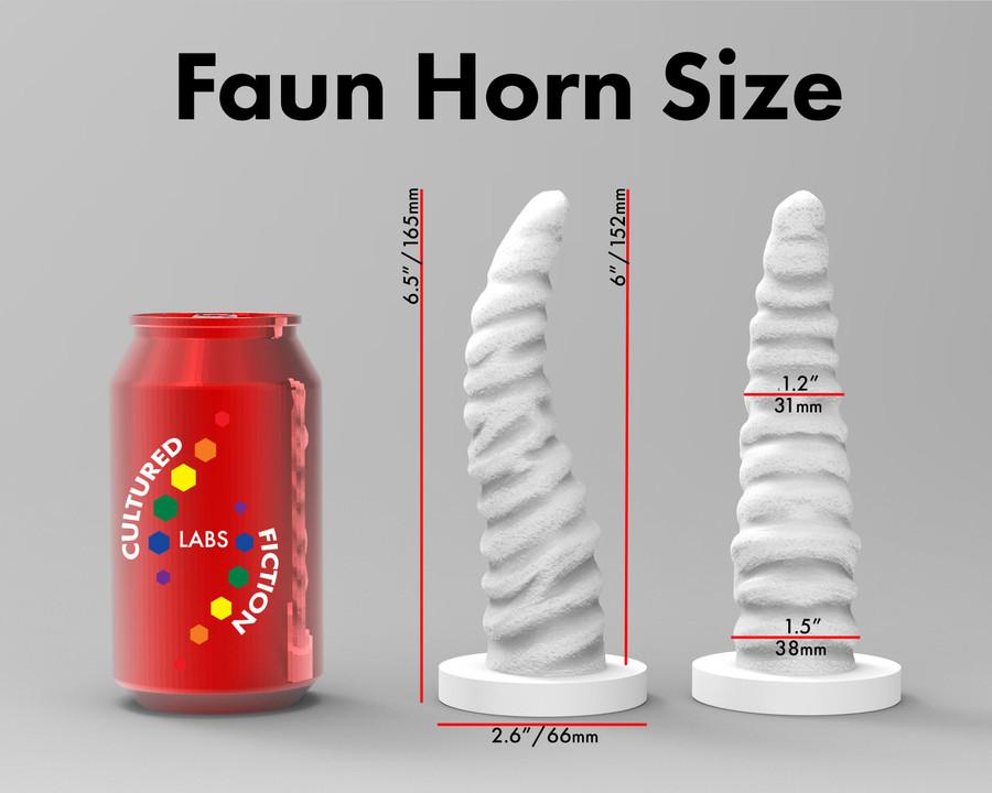 Dildo - The Faun's Horn - Silicone