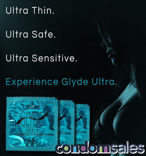 Glyde Ultra 53mm Condoms 100 Bulk - Buy Bulk Condoms Online
