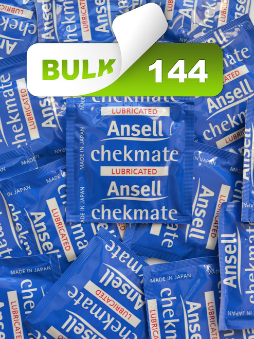 Ansell Checkmate Condoms (144 Bulk) - Buy Bulk Condoms Online