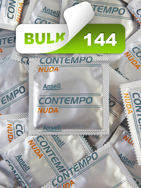 Ansell Nuda Condoms (144 Bulk) - Buy Bulk Condoms Online