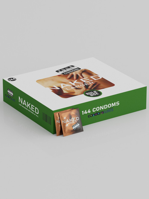 Four Seasons Naked Larger 60mm Condoms (144 Bulk) - Buy Bulk Condoms Online