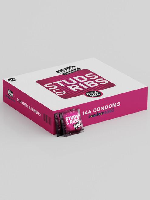 Four Seasons Studded & Ribbed Condoms (144 Bulk)