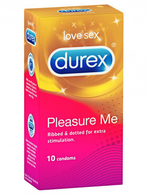 Durex Pleasure Me Condoms 10 Pack - Buy Condoms Online
