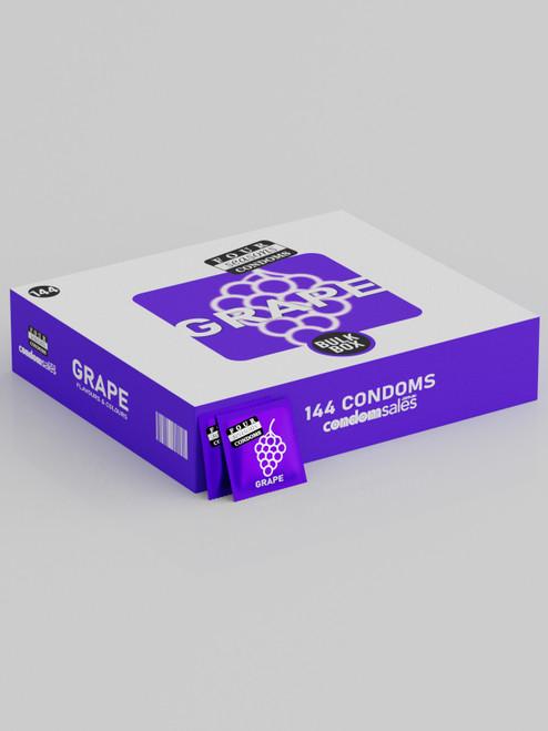 Four Seasons Grape 54mm Condoms (144 Bulk)