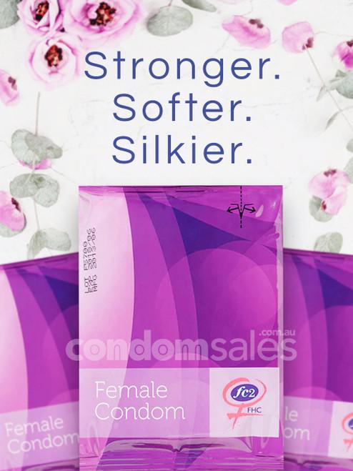 Femidom Female Condom 12 Pack