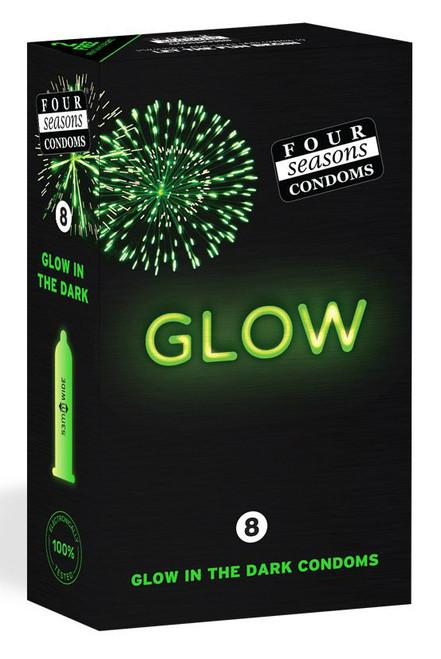 Glow in the dak condoms