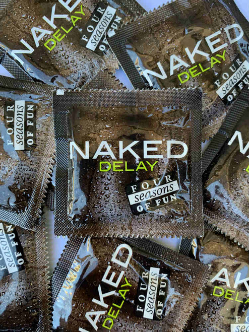 Four Seasons Naked Delay Condoms (24 loose packed)  - Buy Condoms Online