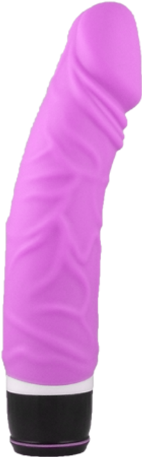 Silicone Classic Pink Vibrator Seven Creations