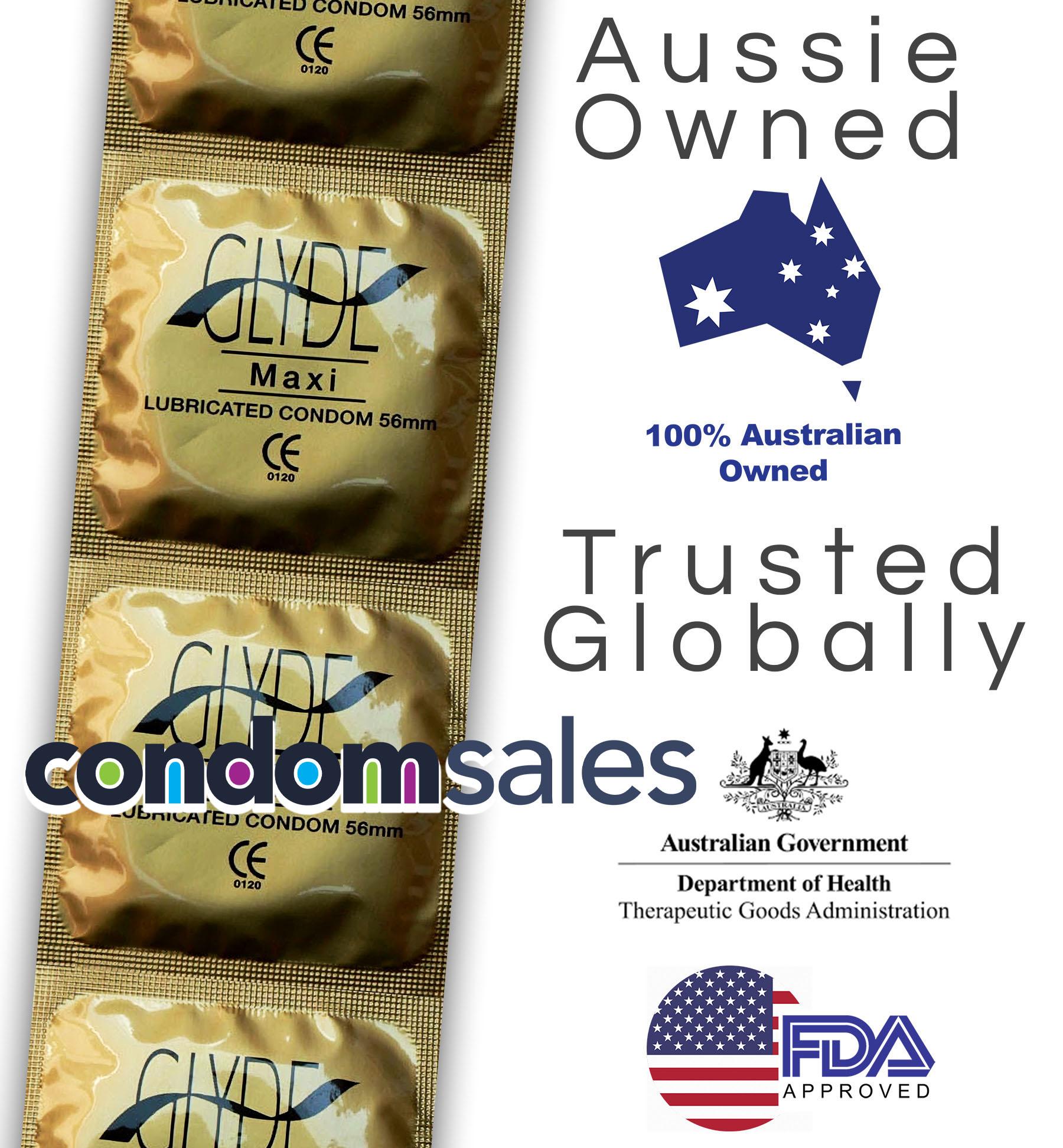 Glyde Maxi  Condoms 100 Bulk  - Buy Bulk Condoms Online