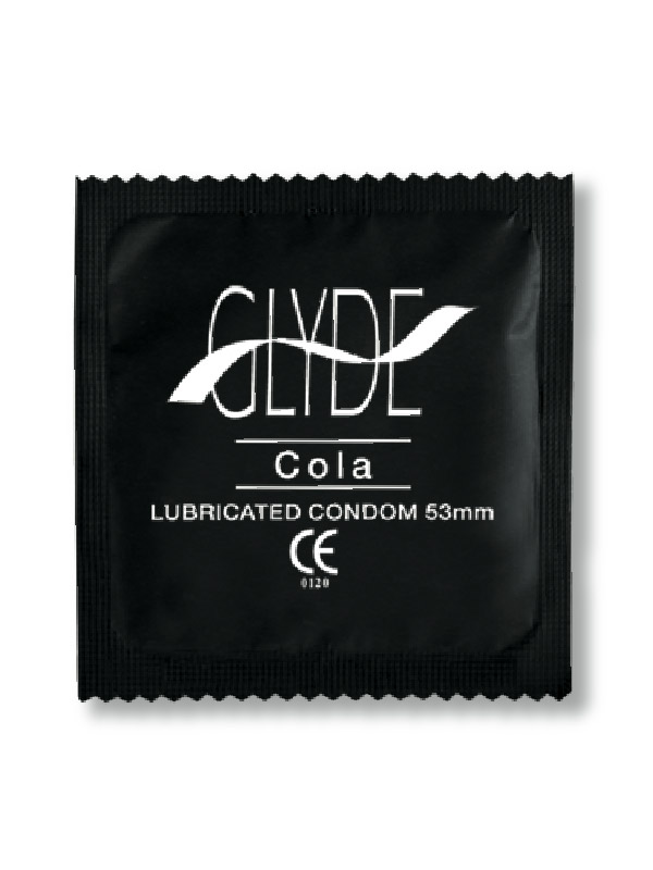 Glyde Black Condoms (24 Loose Packed) - Buy Condoms Online