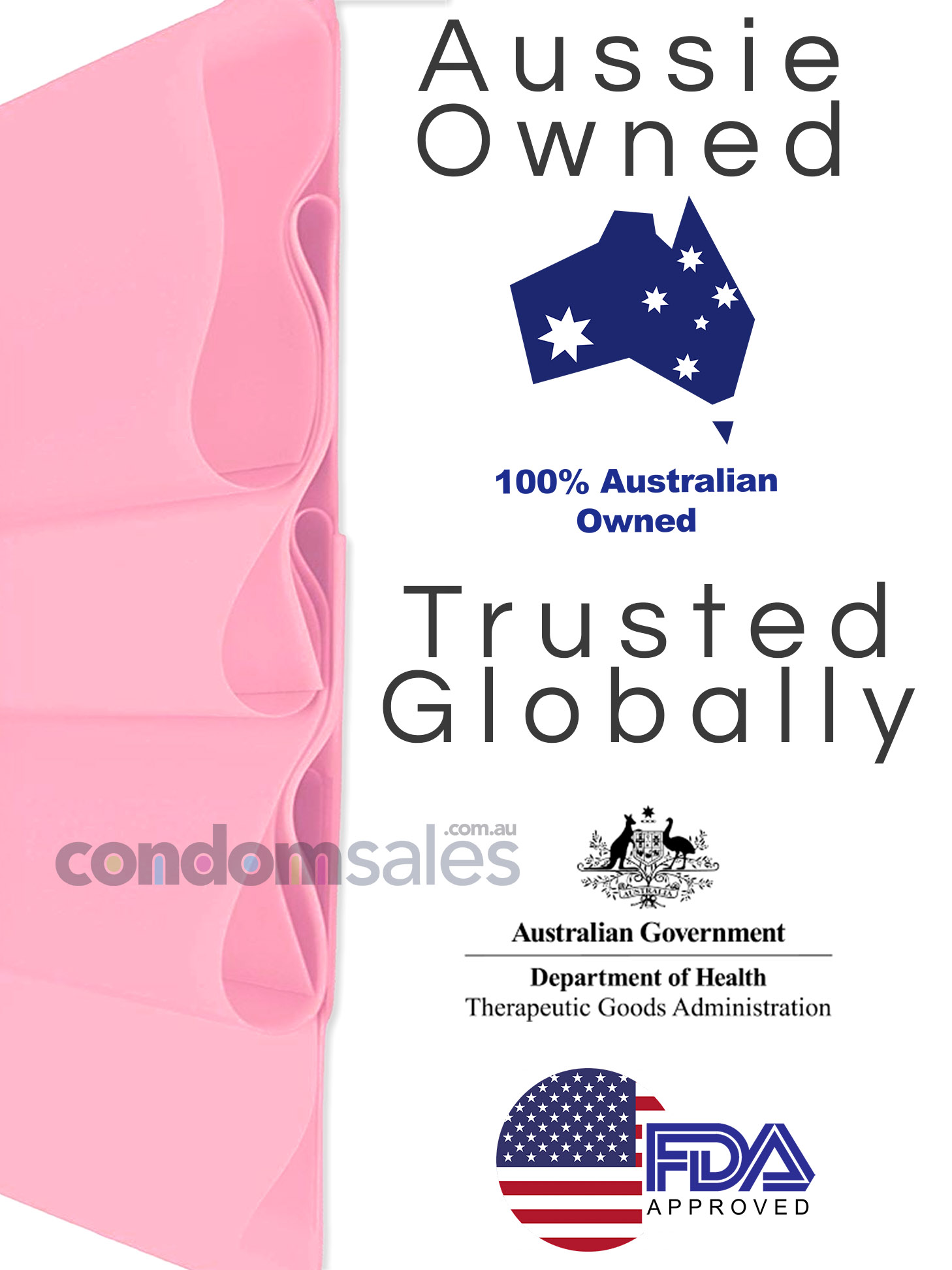 Glyde Sheer Dams Strawberry/Pink - CondomSales.com.au