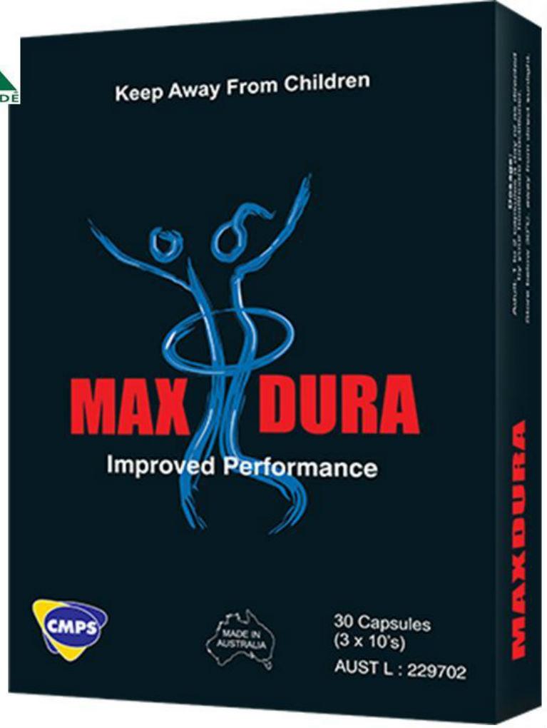 Max Dura, Performance pills