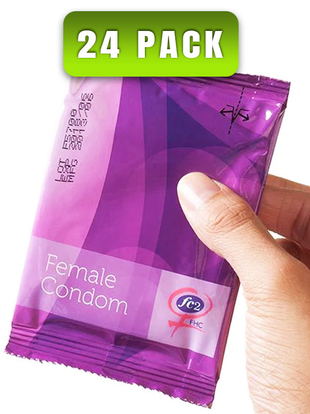 Femidom Female Condom 24 Pack