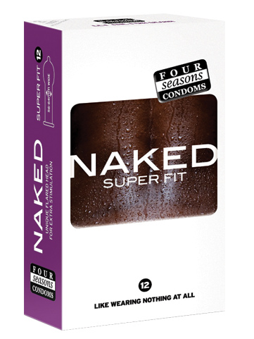 Four Seasons Naked Super Fit 56mm Condoms 12 Pack - Buy Condoms Online