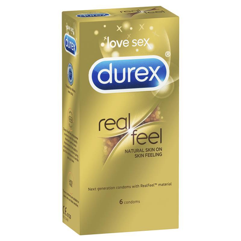 Durex Real Feel Condoms (Non-Latex) - CondomSales