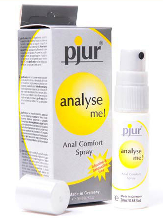 Pjur Analyse Me Anal Comfort Spray - Buy Lubricants Online