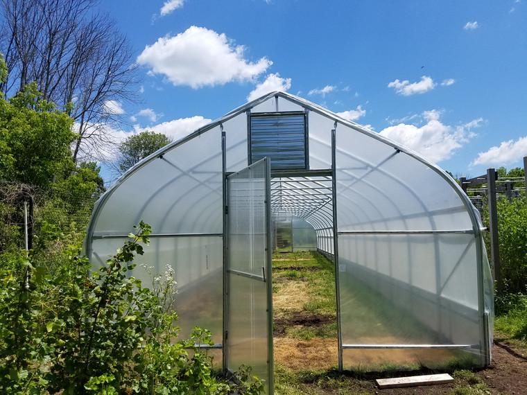 Grower Series High Tunnel: 48 Feet Long