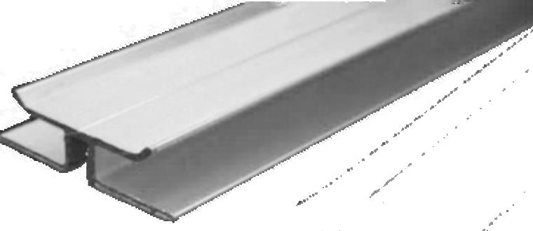 12' Double H Aluminum Extrusion