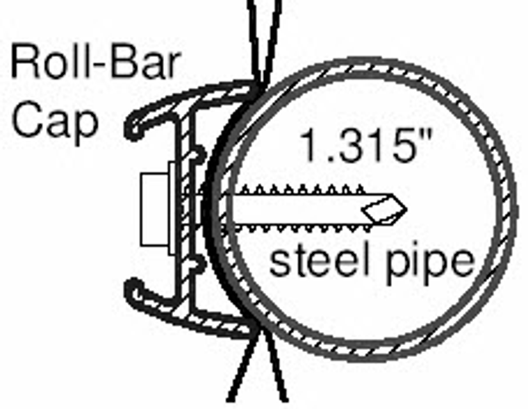 8' Roll Bar Cap