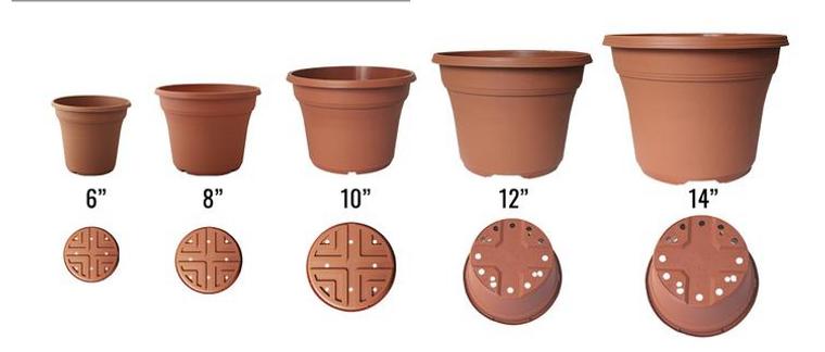 KOBA Round Deck Pot