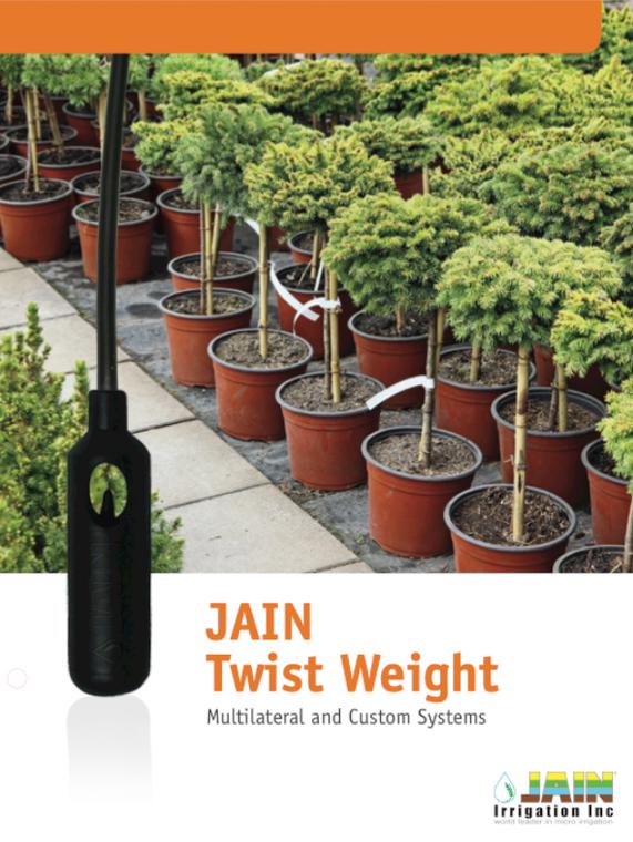 Jain ON/Off Twist Weights