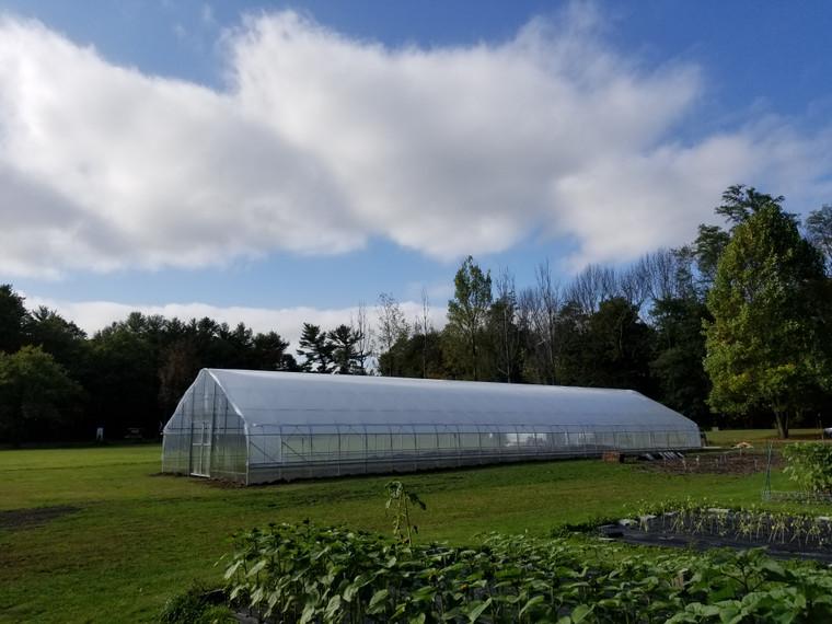 Grower Plus Series Greenhouse: 96 Feet Long