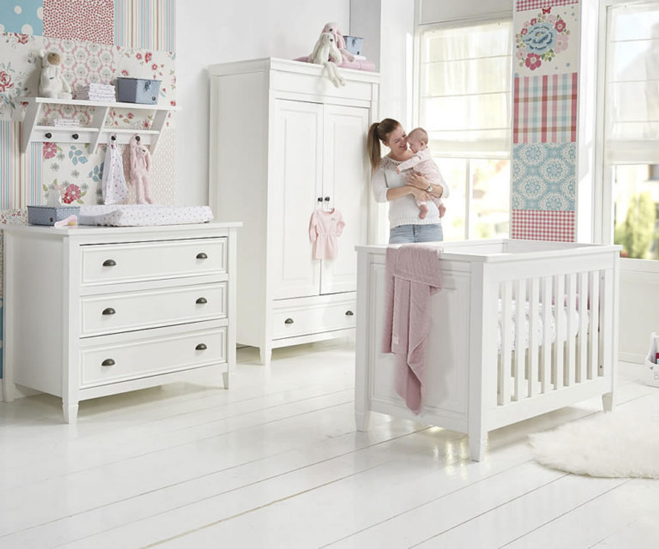 Baby Style Marbella 3 Pieces Nursery Furniture Set