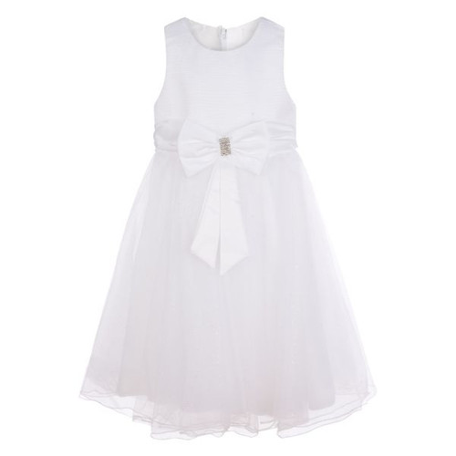 Girls white party dress, wedding dress