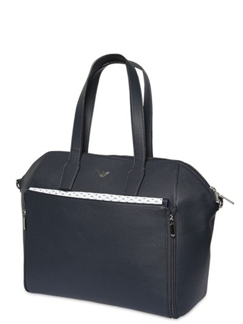 EMPORIO ARMANI FAUX LEATHER  Baby CHANGING BAG