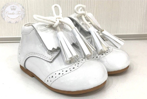 Spanish COUCHE TOT Baby Girls / Boys Patent Shoes Frankie
