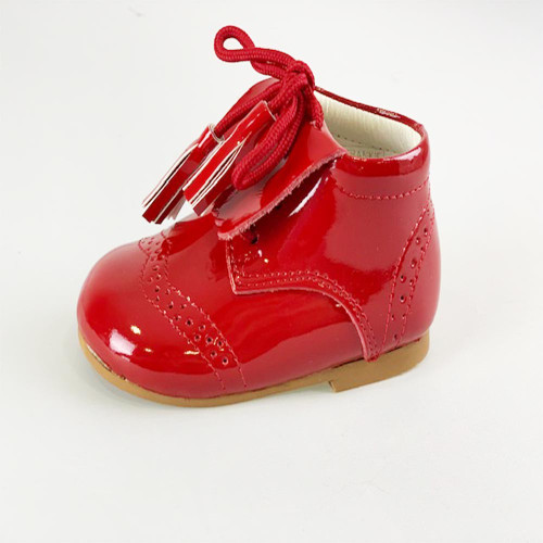 746592e1a06 Spanish COUCHE TOT Baby Girls   Boys Patent Shoes Frankie