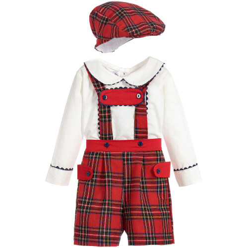 COUCHE TOT Baby 3 Piece Tartan Stunning Outfit