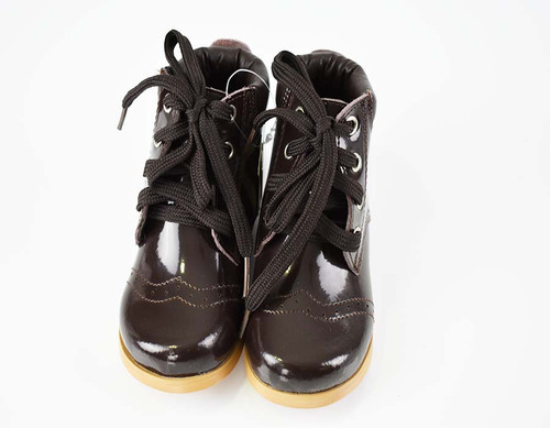 Couche Tot Boys Patrick leather Boots