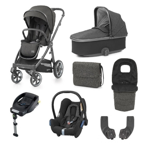 Babystyle Oyster 3 Luxury 7-Piece Bundle - City Grey Chassis/Pepper 20/21