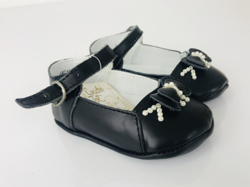 Couche tot Beautiful Leather Pram Shoes (REF 8221)