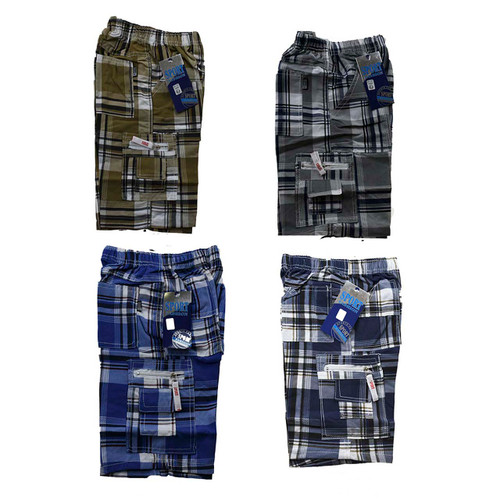 Boys Check Shorts Summer style